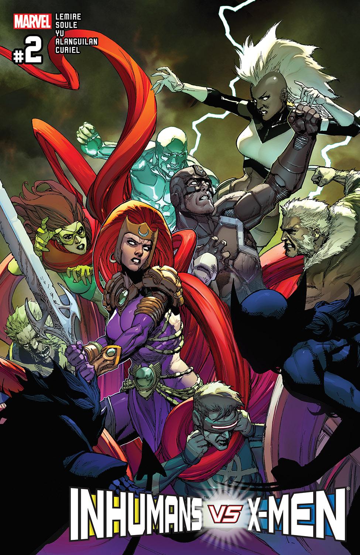 Inhumans vs. X-Men (2016) #2