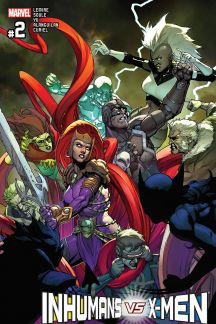 Inhumans vs. X-Men #2