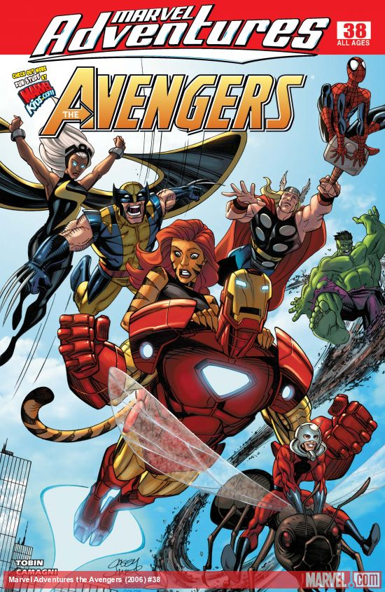 Marvel Adventures the Avengers (2006) #38