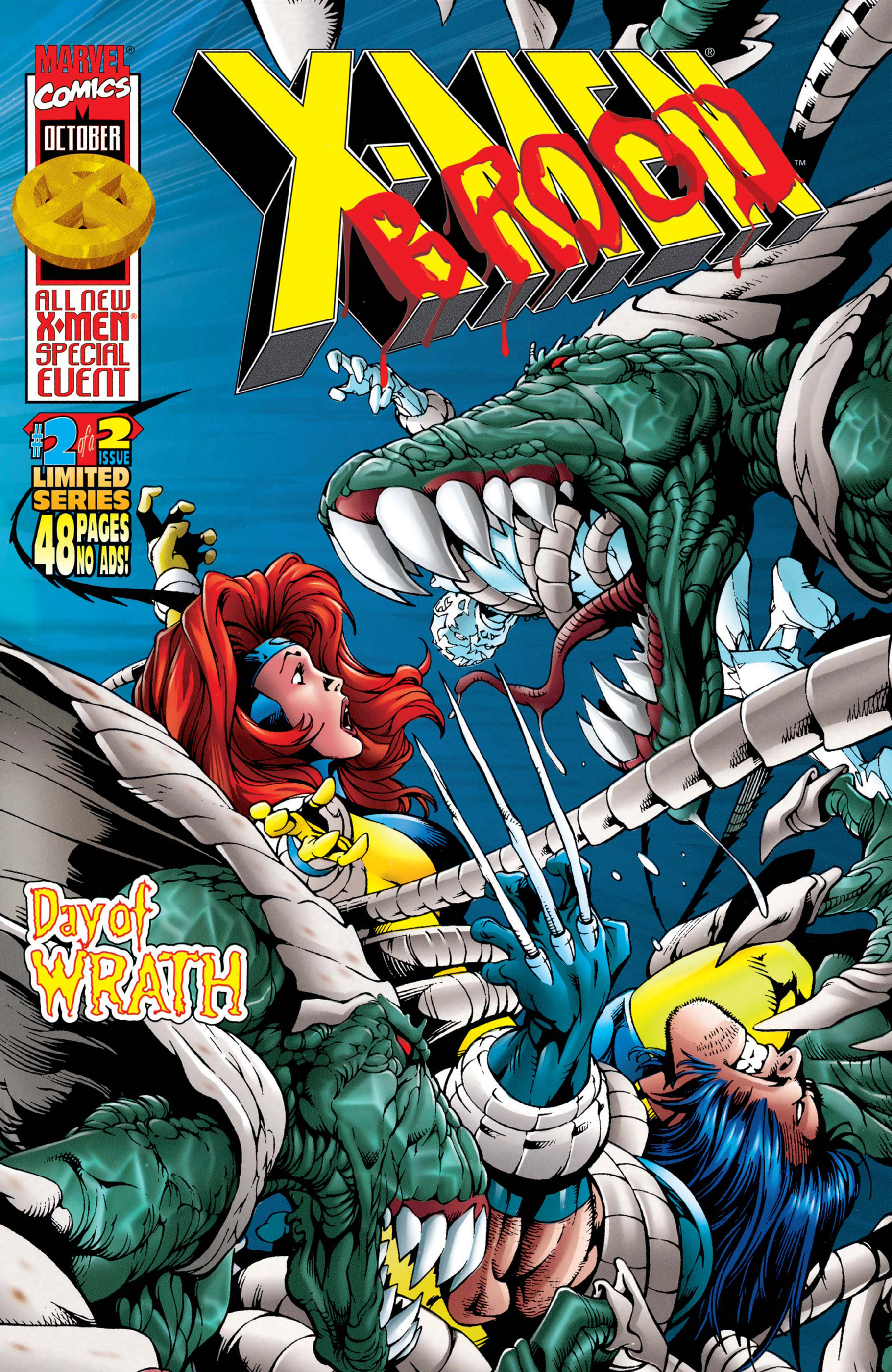 X-Men Vs. Brood (1996) #2