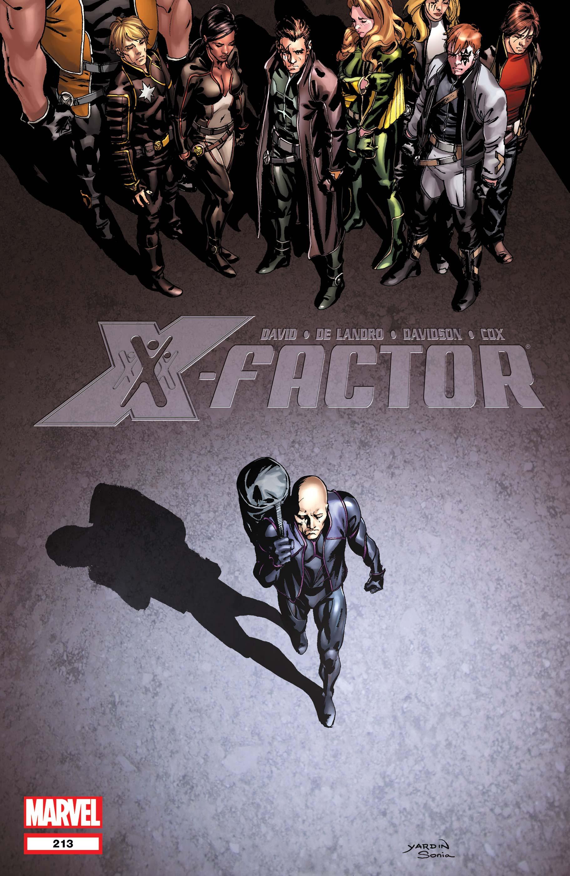 X-Factor (2005) #213