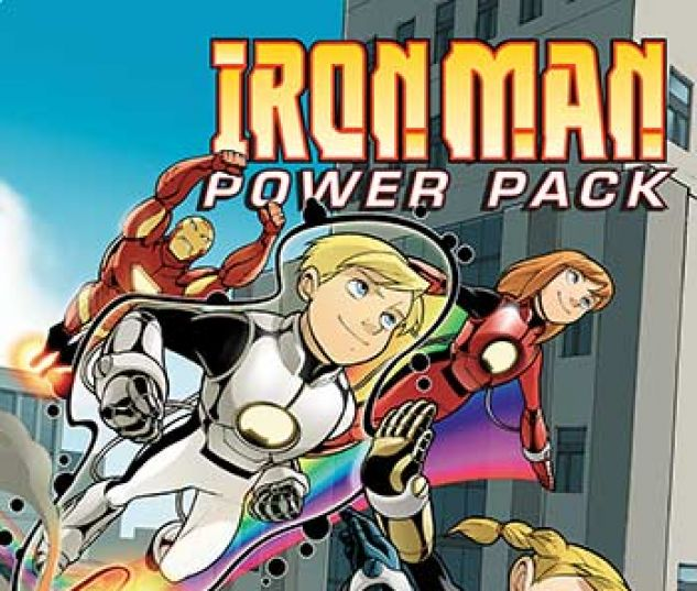 cover from Iron Man and Power Pack Infinite Comic (2017) #8