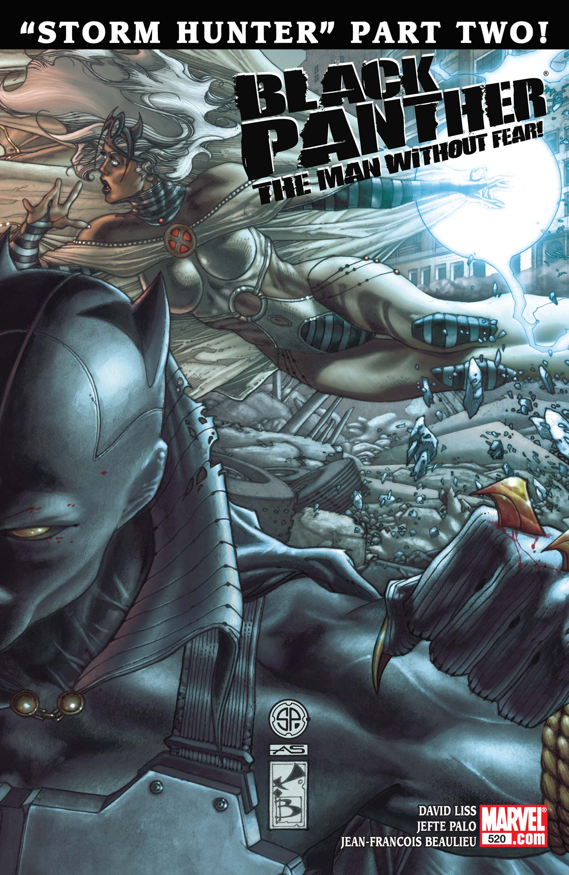 Black Panther: The Man Without Fear (2010) #520