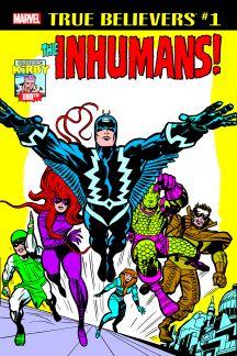 True Believers: Kirby 100th - Inhumans (2017) #1