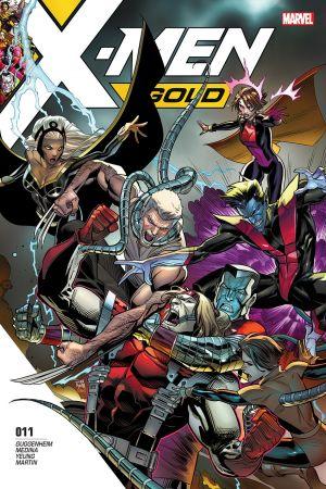X-Men: Gold (2017) #11