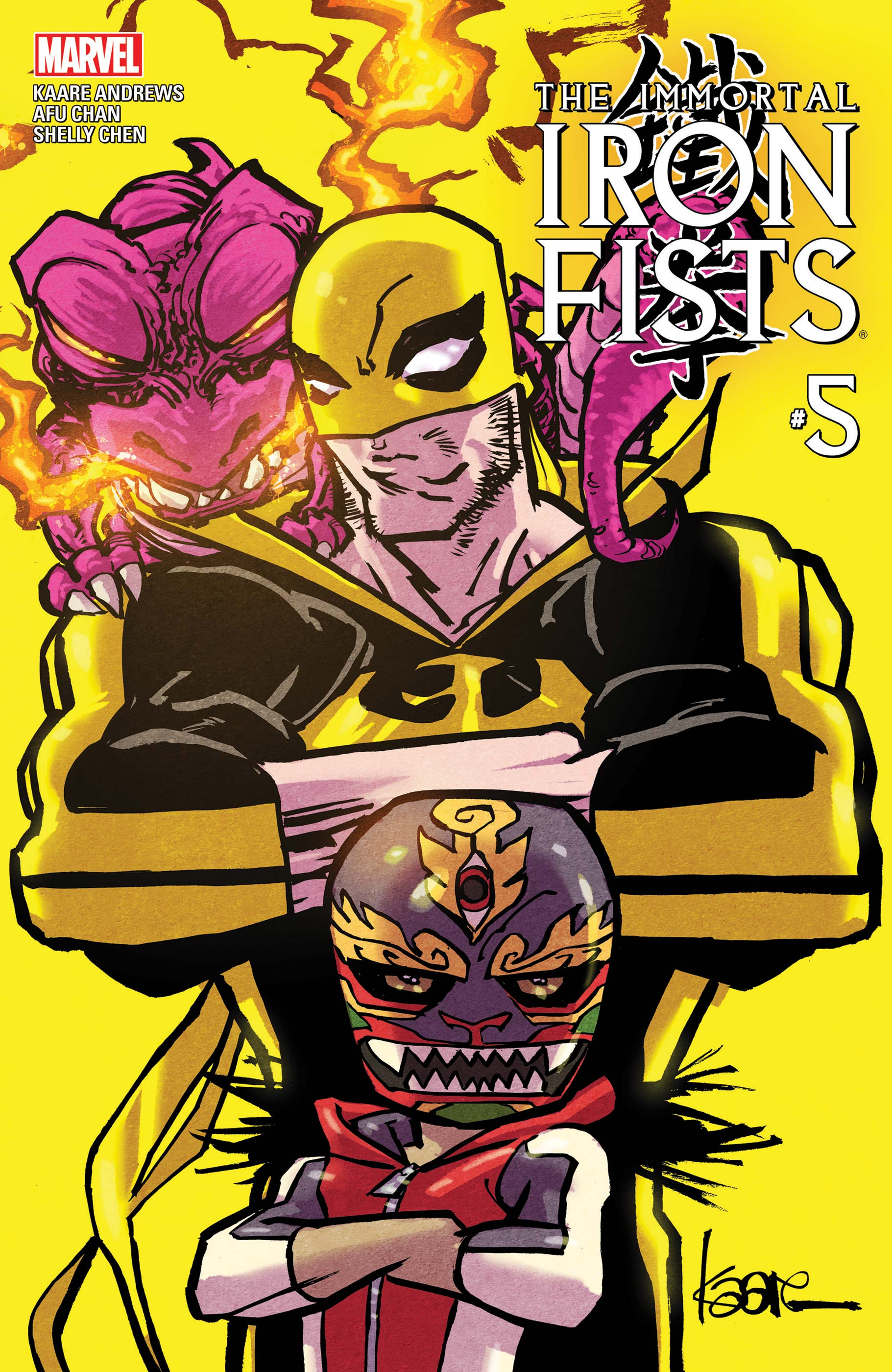 Immortal Iron Fists (2017) #5