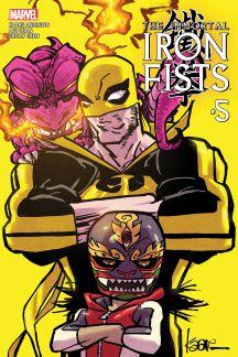 Immortal Iron Fists #5