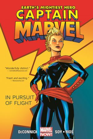 Captain Marvel Vol. 1: In Pursuit of Flight (Trade Paperback)