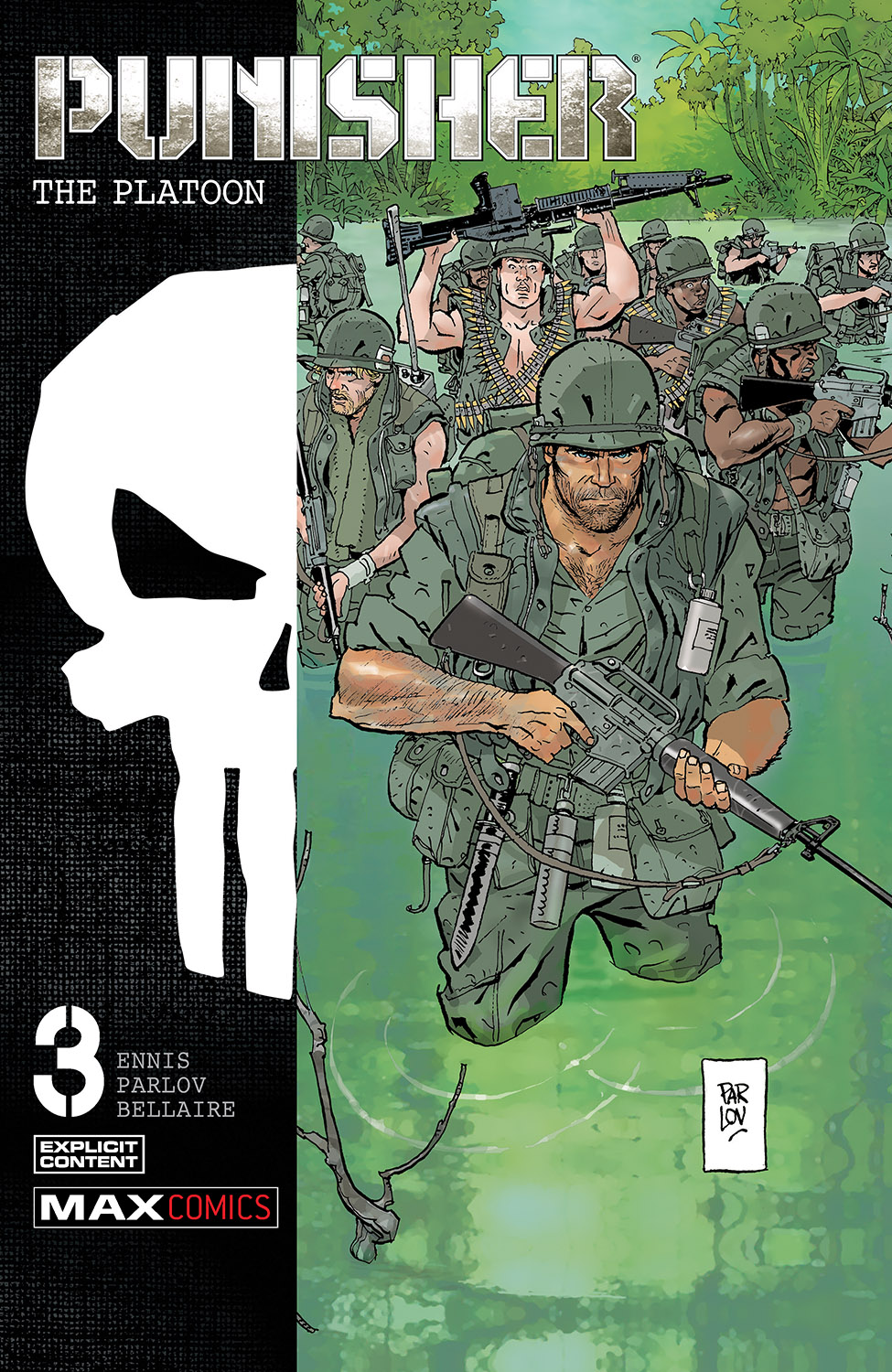 Punisher: The Platoon (2017) #3