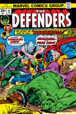 Defenders (1972) #19 cover