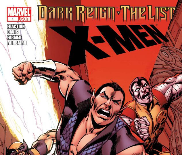 DARK REIGN: THE LIST - X-MEN (2009) #1