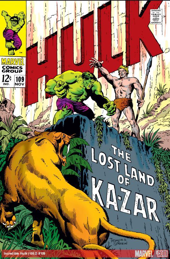 Incredible Hulk (1962) #109