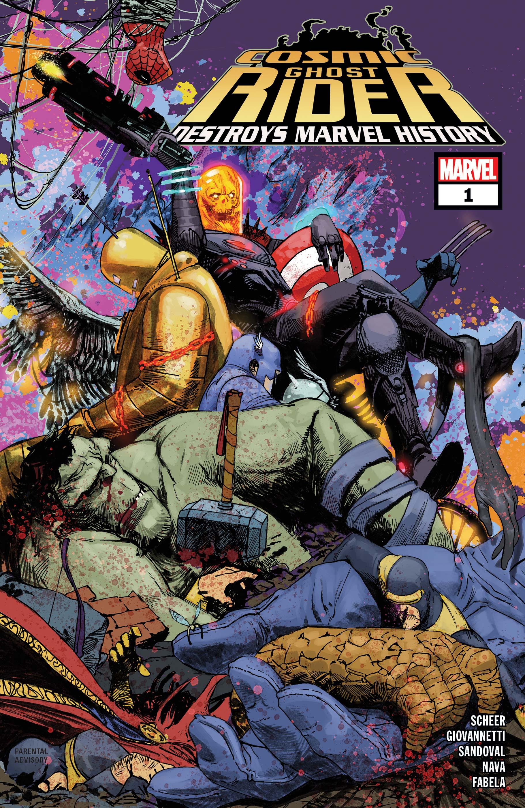 Cosmic Ghost Rider Destroys Marvel History (2019) #1