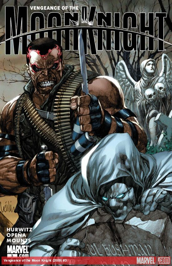 Vengeance of the Moon Knight (2009) #3