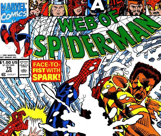 Web of Spider-Man (1985) #75