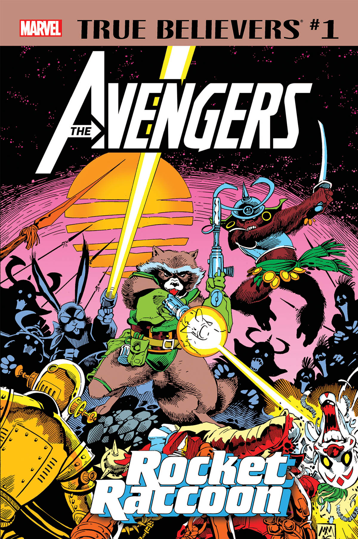 True Believers: Avengers - Rocket Raccoon (2019) #1