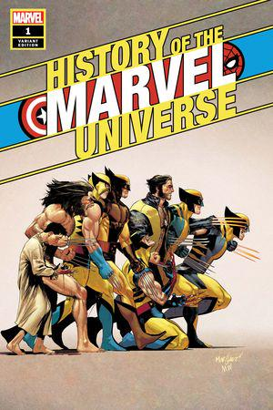 History of the Marvel Universe #1  (Variant)