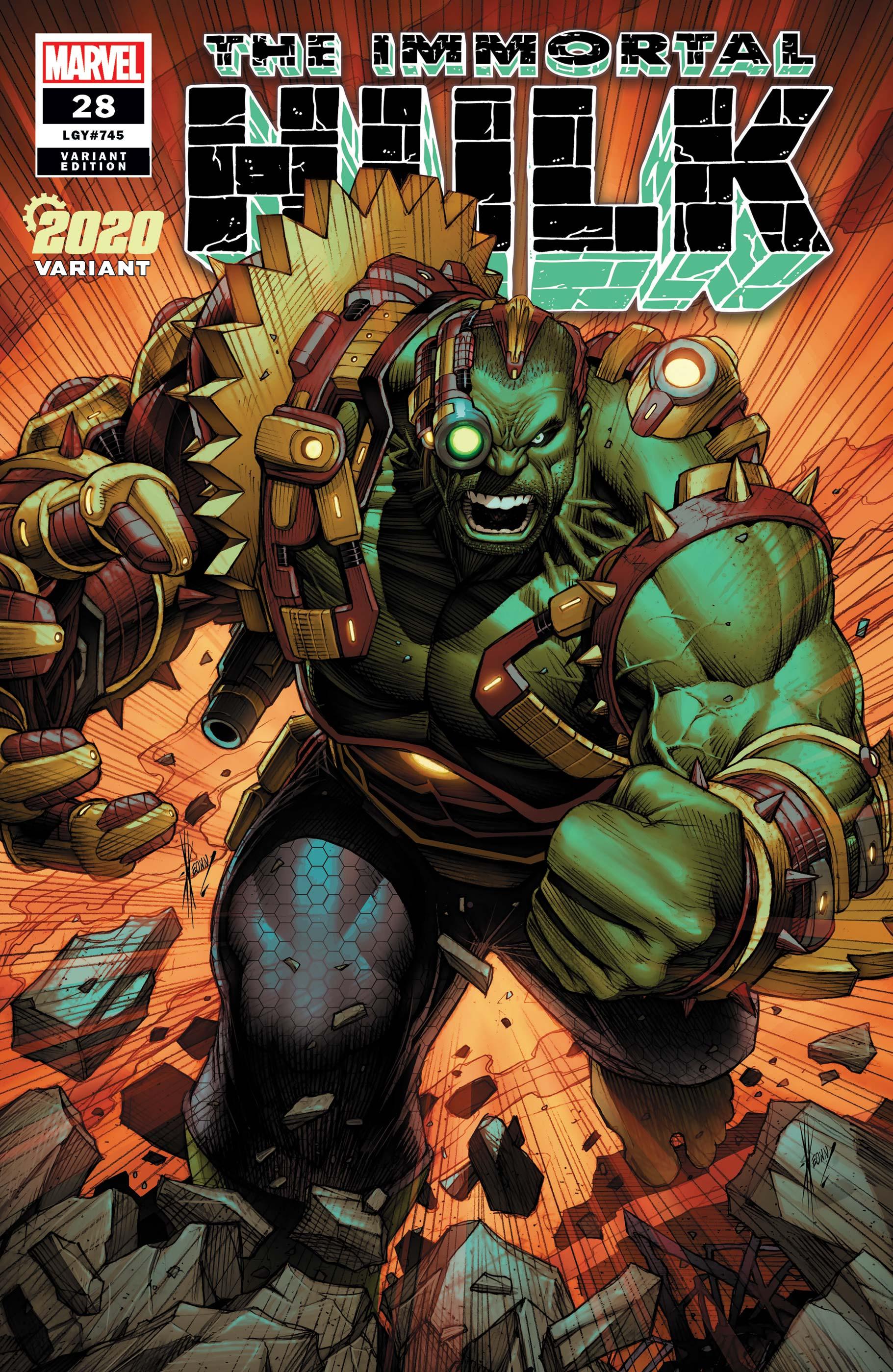 Immortal Hulk (2018) #28 (Variant)