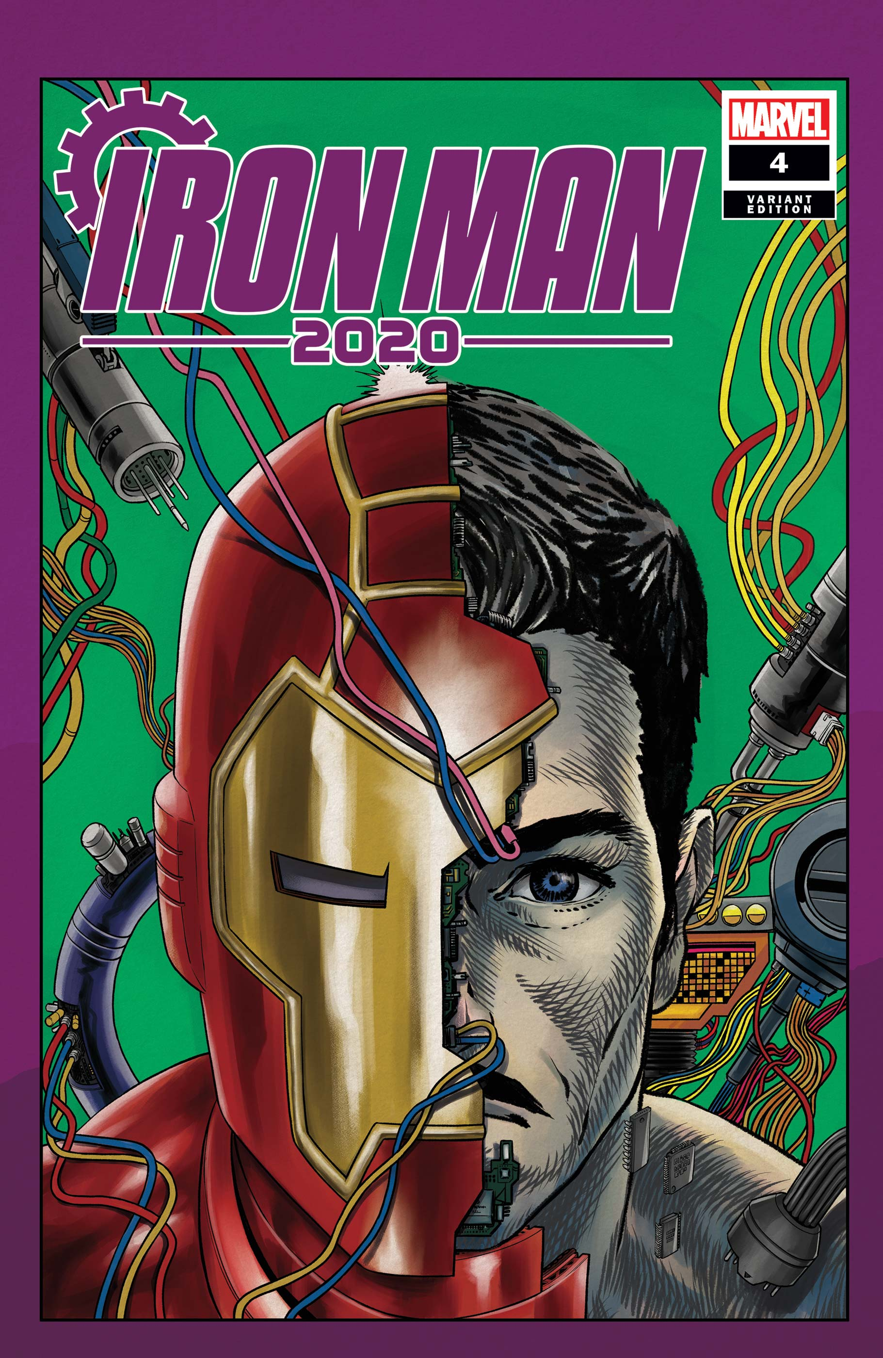 Iron Man 2020 (2020) #4 (Variant)