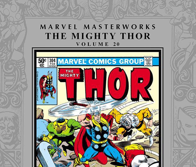 MARVEL MASTERWORKS: THE MIGHTY THOR VOL. 20 HC #20