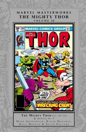 Marvel Masterworks: The Mighty Thor Vol. 20 (Hardcover)