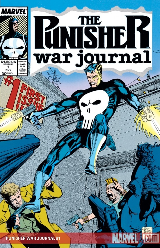 Punisher War Journal (1988) #1