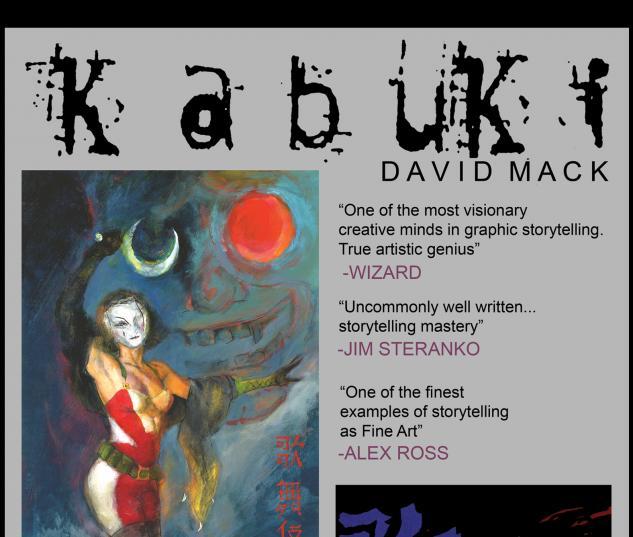 KABUKI #9 COVER