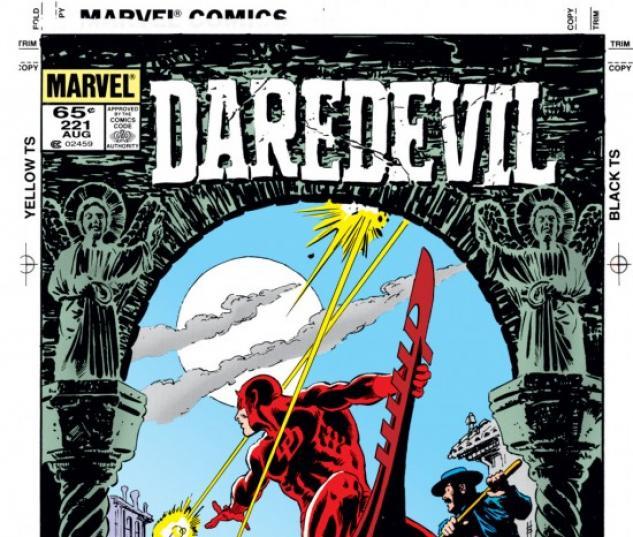 DAREDEVIL #221 COVER