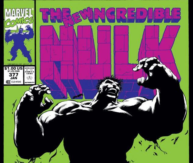 Incredible Hulk (1962) #377 Cover