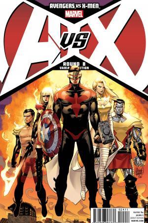 Avengers Vs. X-Men (2012) #8 (Kubert Variant)