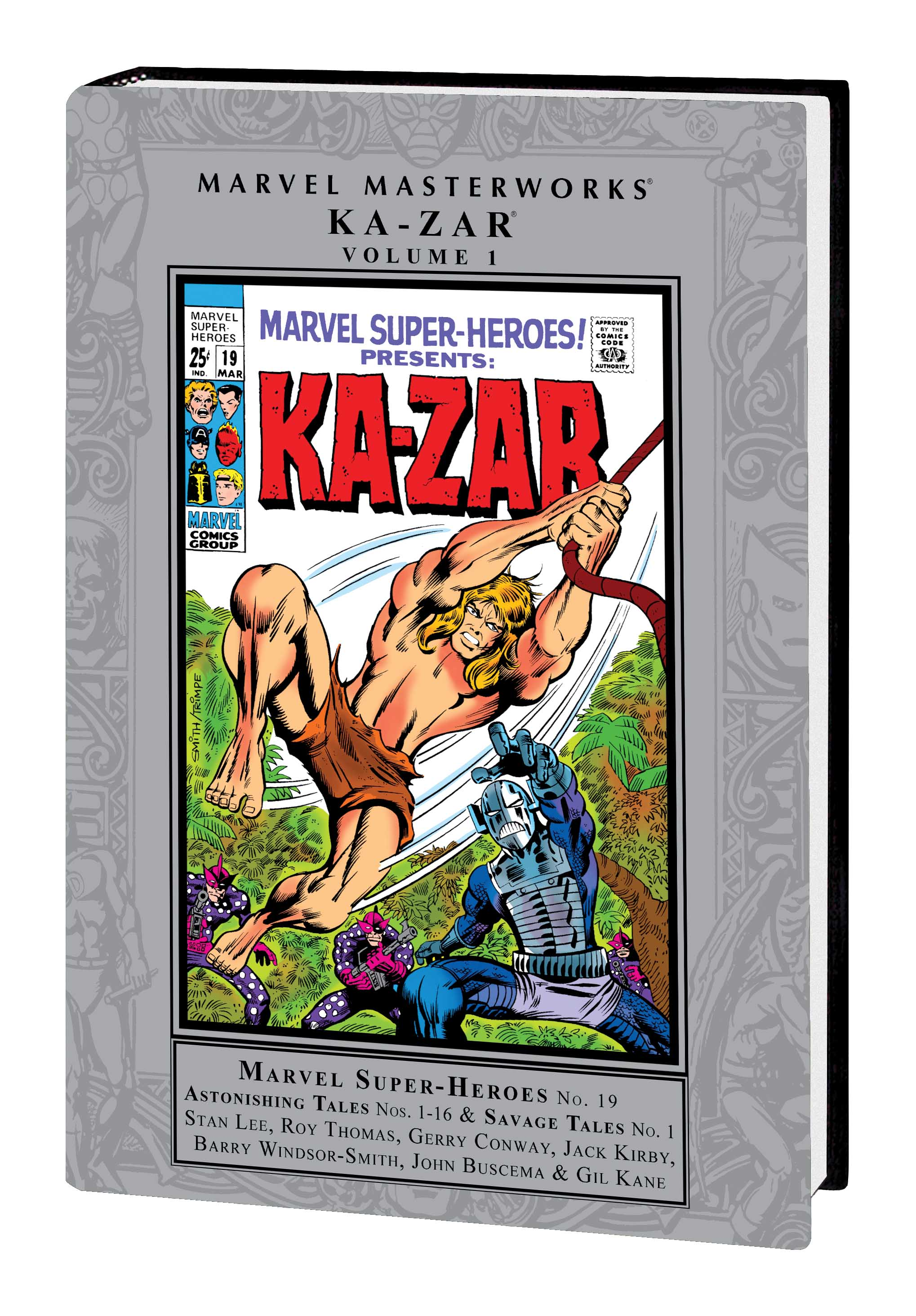 MARVEL MASTERWORKS: KA-ZAR VOL. 1 HC (Hardcover)