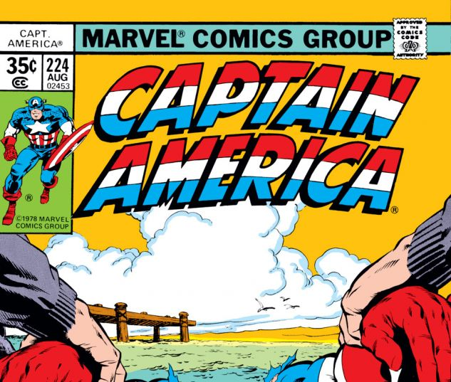 Captain America (1968) #224 Cover