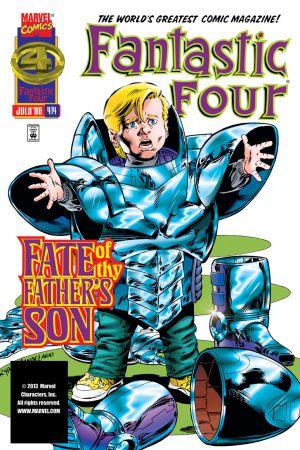 Fantastic Four #414