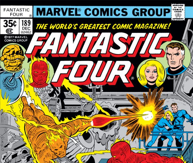 Fantastic Four (1961) #189 Cover