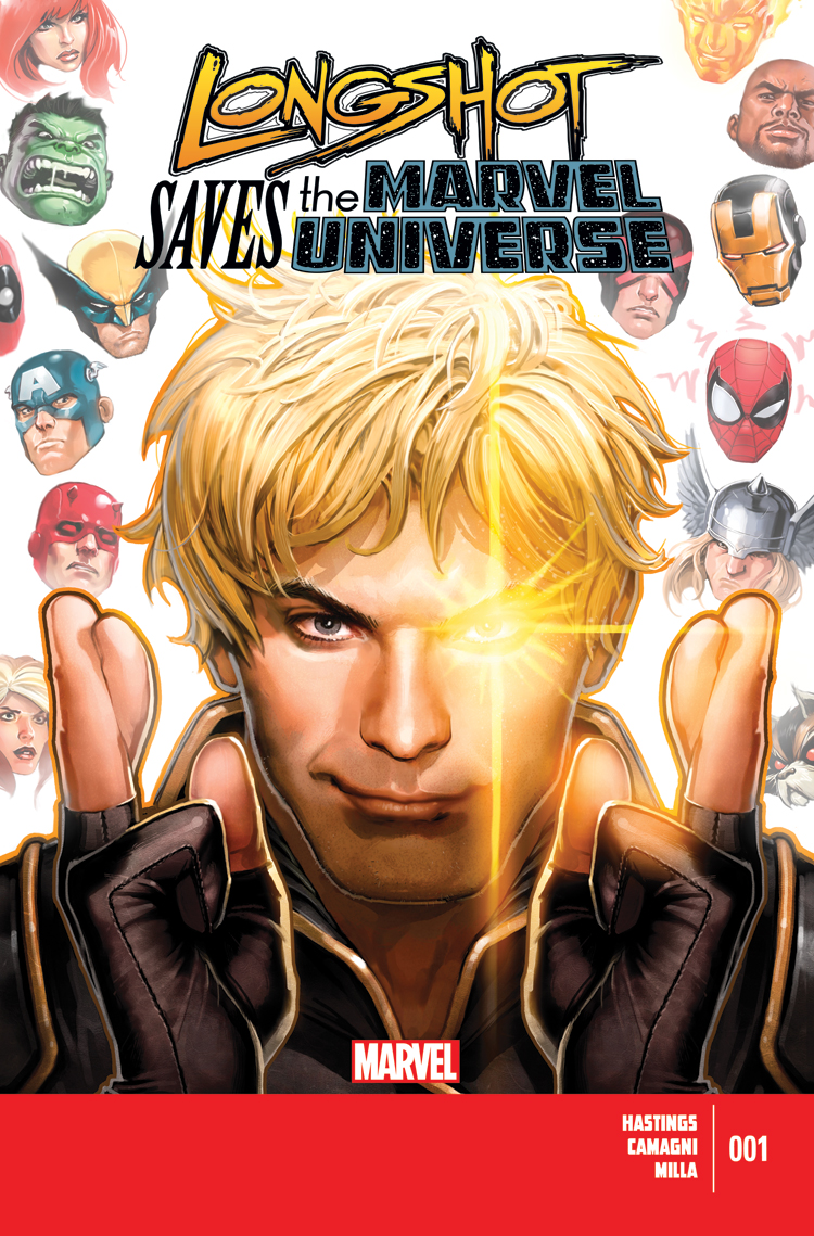 Longshot Saves the Marvel Universe (2013) #1