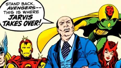Marvel AR: Jarvis Biography