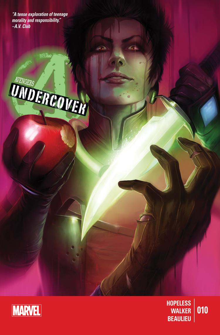 Avengers Undercover (2014) #10