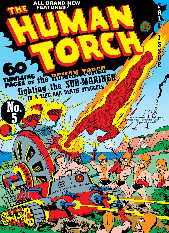 Human Torch Comics (1940) #5