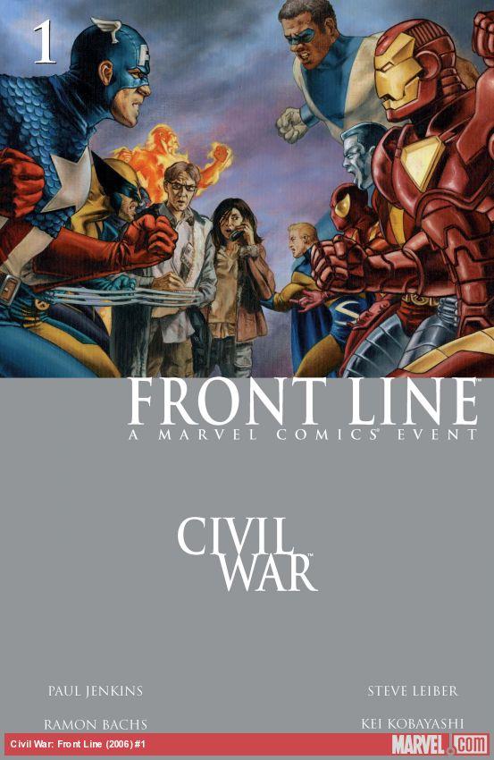 Civil War: Front Line (2006) #1