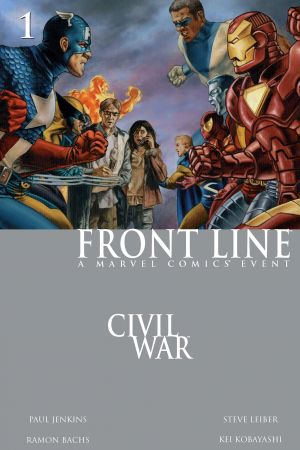 Civil War: Front Line #1