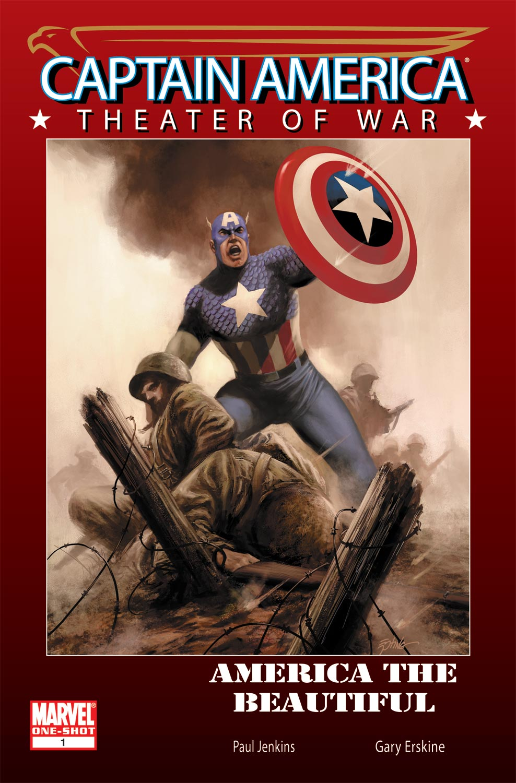 Captain America Theater of War: America the Beautiful (2009) #1