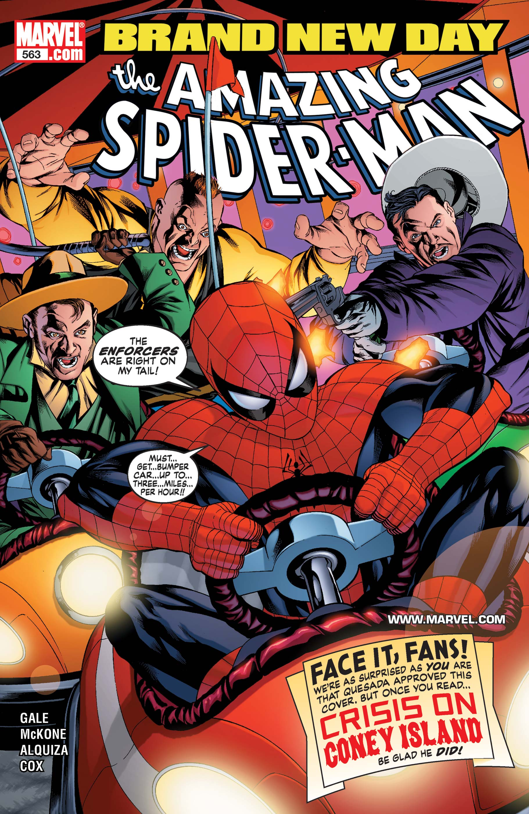Amazing Spider-Man (1999) #563
