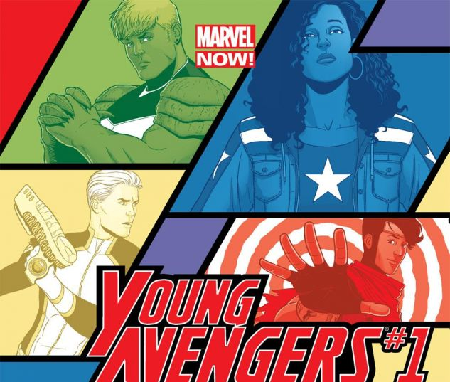 cover from Young Avengers (2013) #1