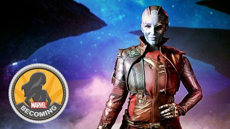 Cosplay AmberSkies becomes Nebula
