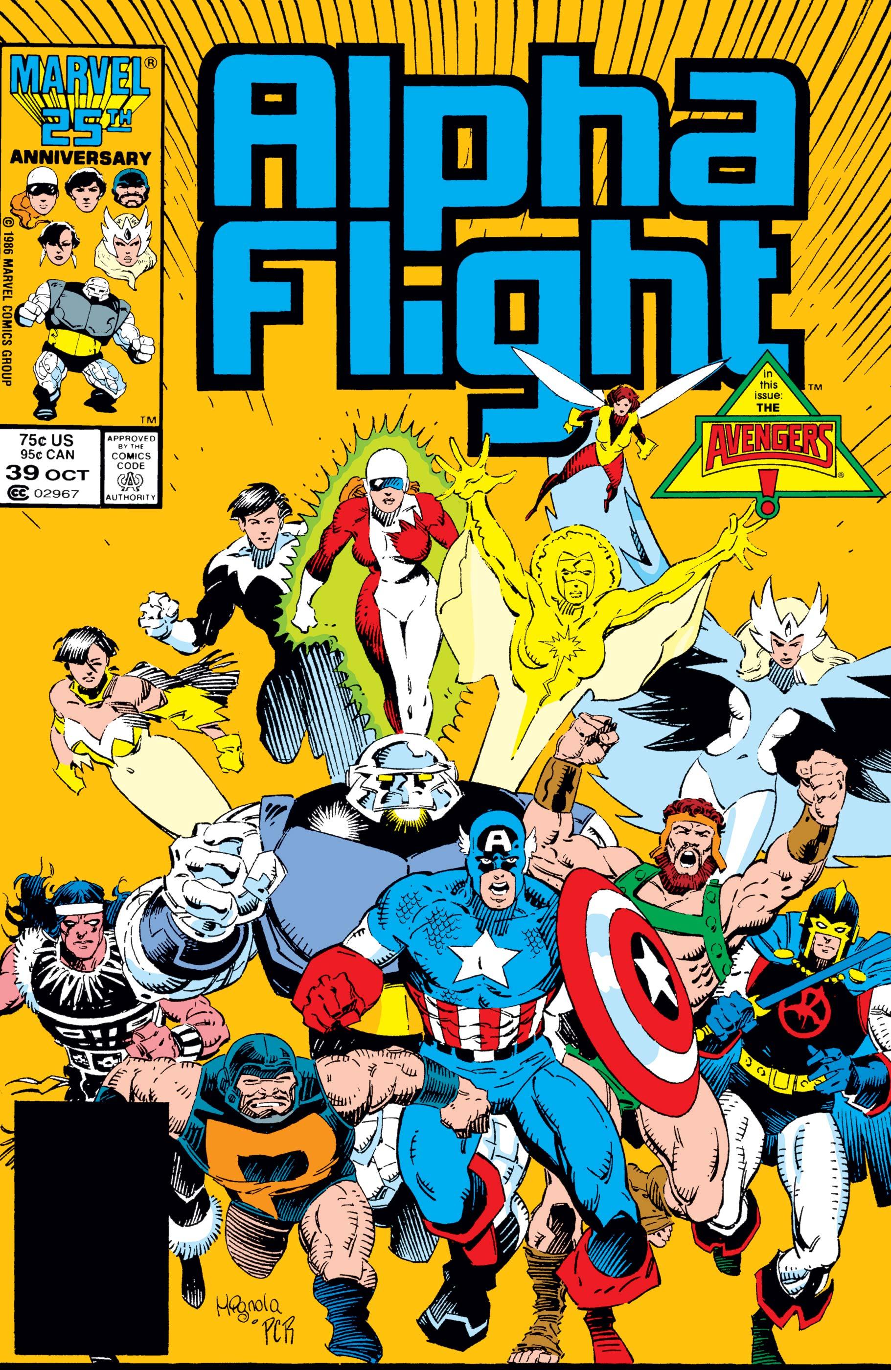 Alpha Flight (1983) #39