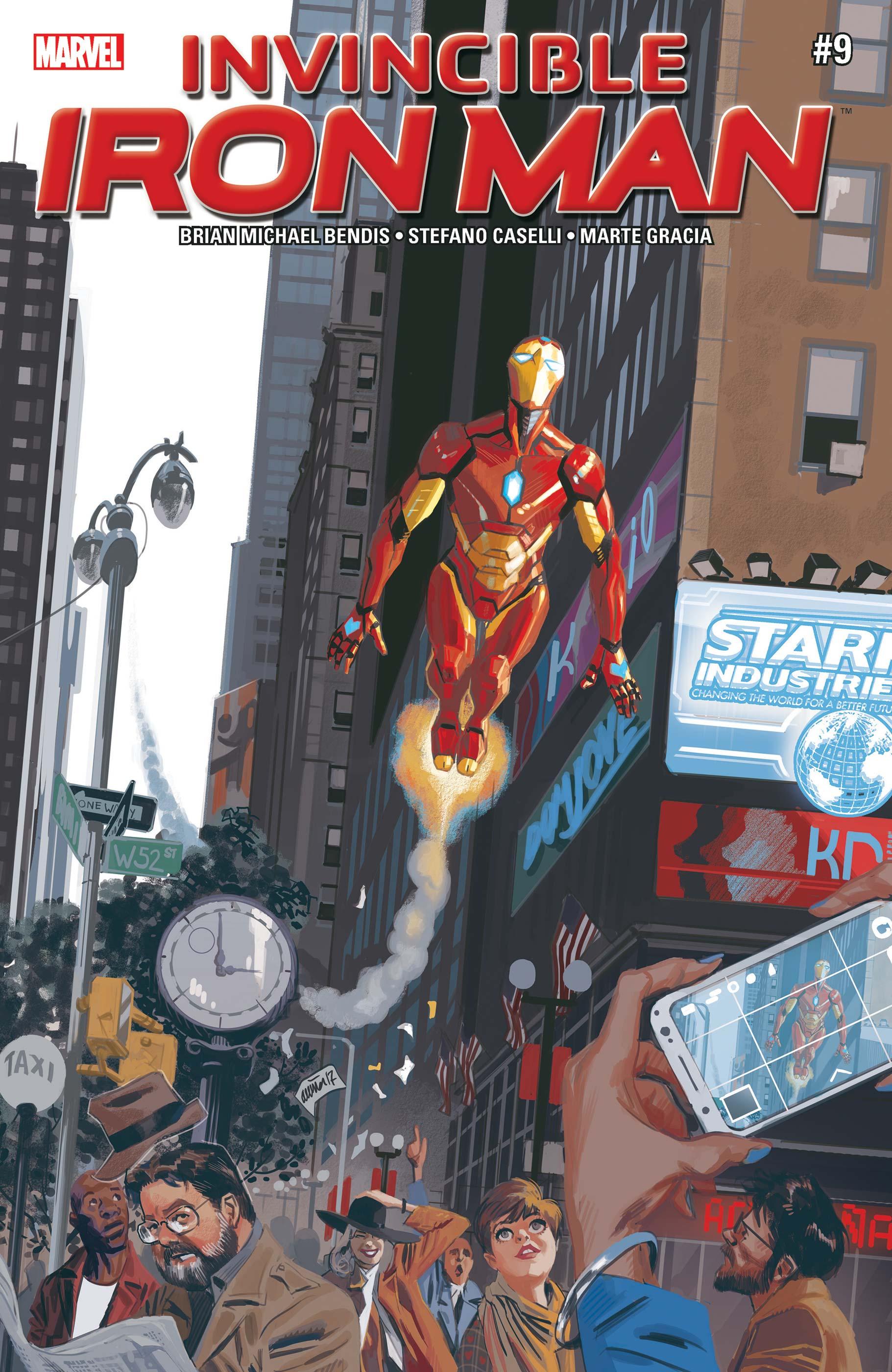 Invincible Iron Man (2016) #9