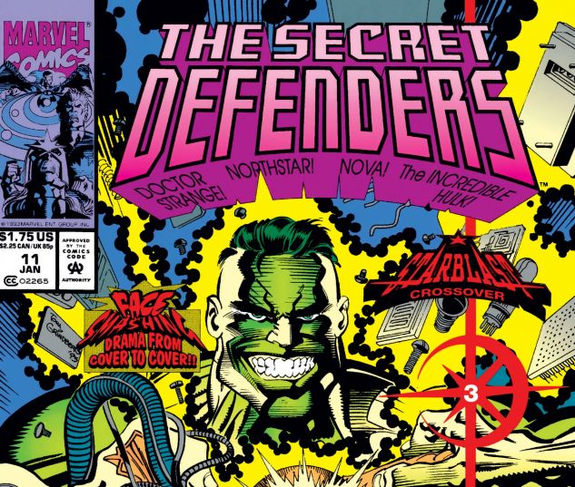 Cover to Secret Defenders (1993) #11