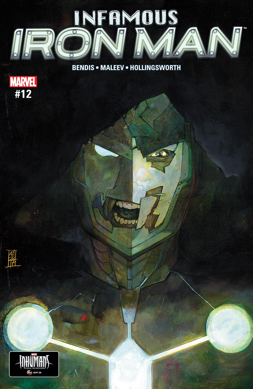 Infamous Iron Man (2016) #12