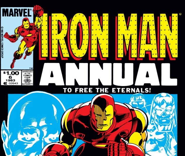 Cover Iron Man Annual 6