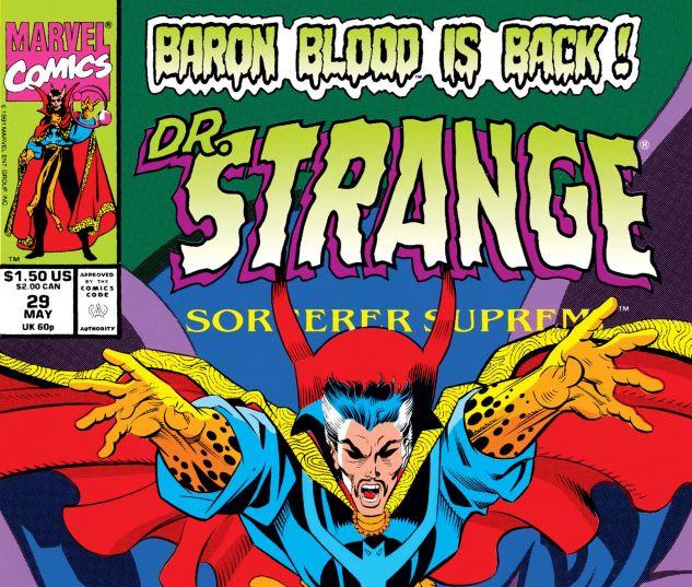 Cover for Doctor Strange, Sorcerer Supreme 29